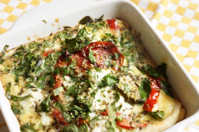Tarte aux légumes confits, picota et thym - Marcel en Cuisine
