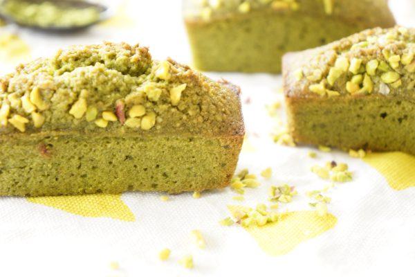 Financiers au thé Matcha et éclats de pistaches - Marcel en Cuisine