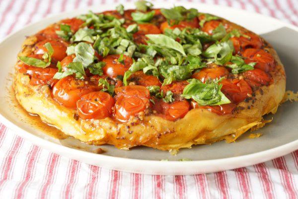 Tarte Tatin aux tomates cerises - Marcel en Cuisine