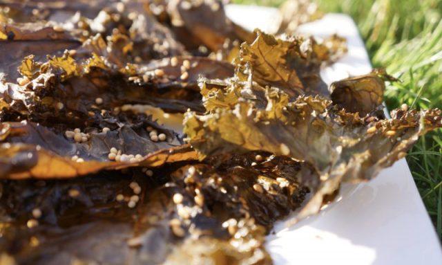 Chips au chou kale salt & vinegar - Marcel en Cuisine